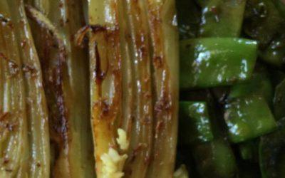 Ayurvedisch schlemmen: Gebratener Fenchel mit Zuckerschoten